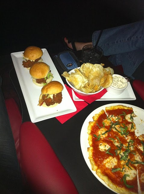 Food movie theatre